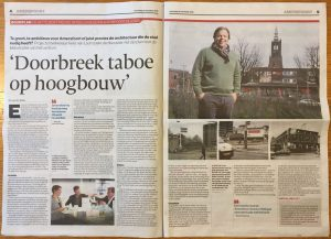 The Spot in het nieuws - AD 30 november 2016